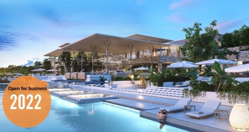 This is what the world class billion rand beach resort will look like at Tinley Town.